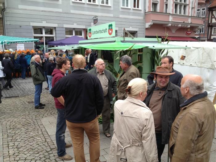 15. September 2013 - Bauernmarkt in Hann Münden